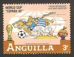 Sellos del Mundo : America : Anguila : Mundial de fútbol España 82