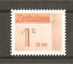 Sellos del Mundo : Africa : Zimbabwe : Serie Basica.