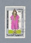 Stamps Africa - Tunisia -  Traje típico de Túnez