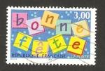 Sellos del Mundo : Europa : Francia :  felices fiestas