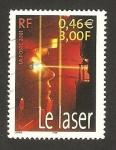 Stamps France -  el láser