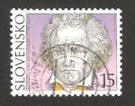 Sellos del Mundo : Europa : Eslovaquia : ludwig van beethoven, compositor alemán