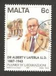 Stamps Europe - Malta -  albert laferla, pionero de la educación