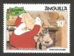 Stamps Anguila -  navidad 81, la noche antes de navidad