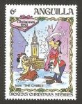 Sellos del Mundo : America : Anguila : Navidad 83,  Dickens historias de navidad, repicar de campanas