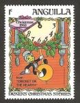 Sellos del Mundo : America : Anguila : Navidad 83, Dickens historias de navidad
