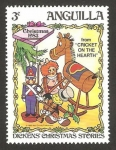 Stamps : America : Anguila :  Navidad 83, Dickens historias de navidad