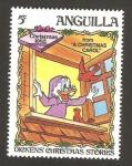 Sellos del Mundo : America : Anguila : Navidad 83, Dickens historias de navidad, unas navidades de carol