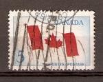 Stamps Canada -  BANDERA  DE  CANADÁ