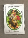 Stamps Africa - Mali -  Atuendo Songhai