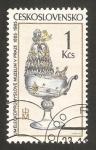 Stamps Czechoslovakia -  centº del museo industrial del arte del cristal