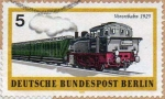sellos de Europa - Alemania -  DEUTSCHE BUNDESPOST BERLIN