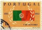 Stamps Portugal -  5 DE OCTUBRE
