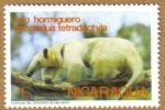 Stamps America - Nicaragua -  OSO HORMIGUERO