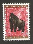 Stamps Africa - Rwanda -  un gorila