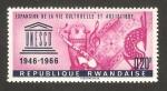 Stamps Rwanda -  XX anivº de la UNESCO