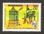 Sellos del Mundo : Africa : Rwanda : Día mundial de las telecomunicaciones