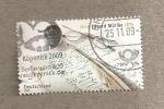 Stamps Germany -  Eduard Mörike, poeta