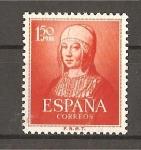 Stamps Spain -  V Cetenario del nacimiento de Isabel la Catolica.