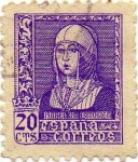 Stamps Spain -  ISABEL LA CATOLICA 855