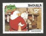 Sellos de America - Anguila -  Navidad 81, la noche antes de navidad