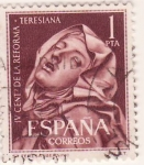 Sellos de Europa - España -  IV Centº de la reforma teresiana