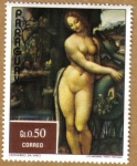 Stamps Paraguay -  Leonardo Da Vinci