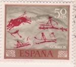 Sellos de Europa - España -  Cueva Remigia (castellon)