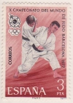 Sellos de Europa - Espa�a -  X Campeonato del mundo de Judo Barcelona 77