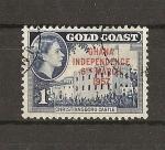 Stamps Africa - Ghana -  Proclamacion de la Independencia