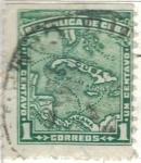 Stamps Cuba -  pi CUBA isla 1c