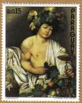 Stamps Paraguay -  Caravaggio