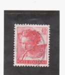 Stamps Italy -  Prof. Daniel