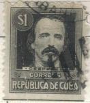 Sellos de America - Cuba -  pi CUBA Cespedes 1s