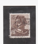 Stamps Italy -  Prof. Isaias