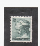 Stamps Italy -  sibila libica