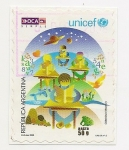 Stamps Argentina -  UNICEF