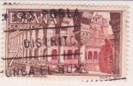 Sellos de Europa - España -  Monasterio S. Pedro de Cardeña - interior