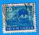 Stamps India -  Locomotora