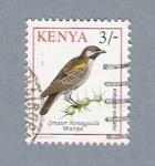 Stamps Kenya -  Pajarito