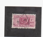 Stamps Europe - Italy -  pacchi sul bollettino 1ª parte