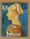 Stamps America - Paraguay -   Domenico Veneciano Museo de Berlin