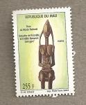 Sellos del Mundo : Africa : Mali : Estatua de la fertilidad