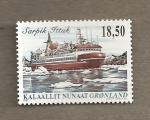 Sellos del Mundo : Europa : Groenlandia : Barco Sarpik Ittuk