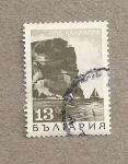 Stamps Bulgaria -  Costa y velero