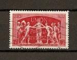 Sellos de Europa - Francia -  Conmemoracion del 75 aniversario de la UPU