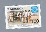 Sellos de Africa - Tanzania -  20 Anv. del Banco Nacional del Comercio
