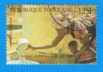 Stamps Africa - Togo -  Aniversario de la FAO