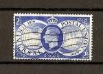 Stamps : Europe : United_Kingdom :  75 Aniversario de la UPU