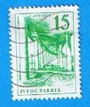 Stamps Yugoslavia -  Aytotiyt